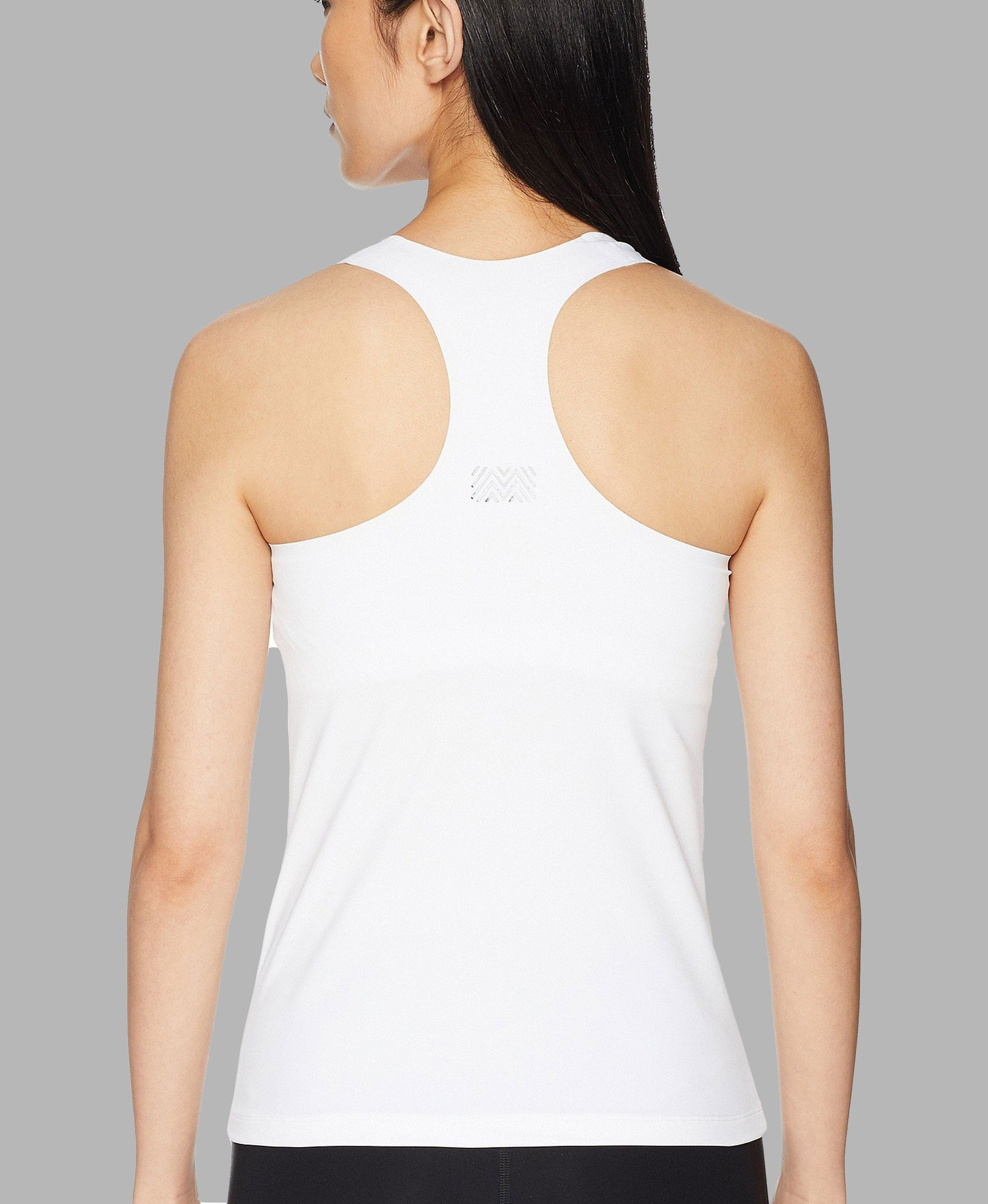 Essential V-Neck Tank - White