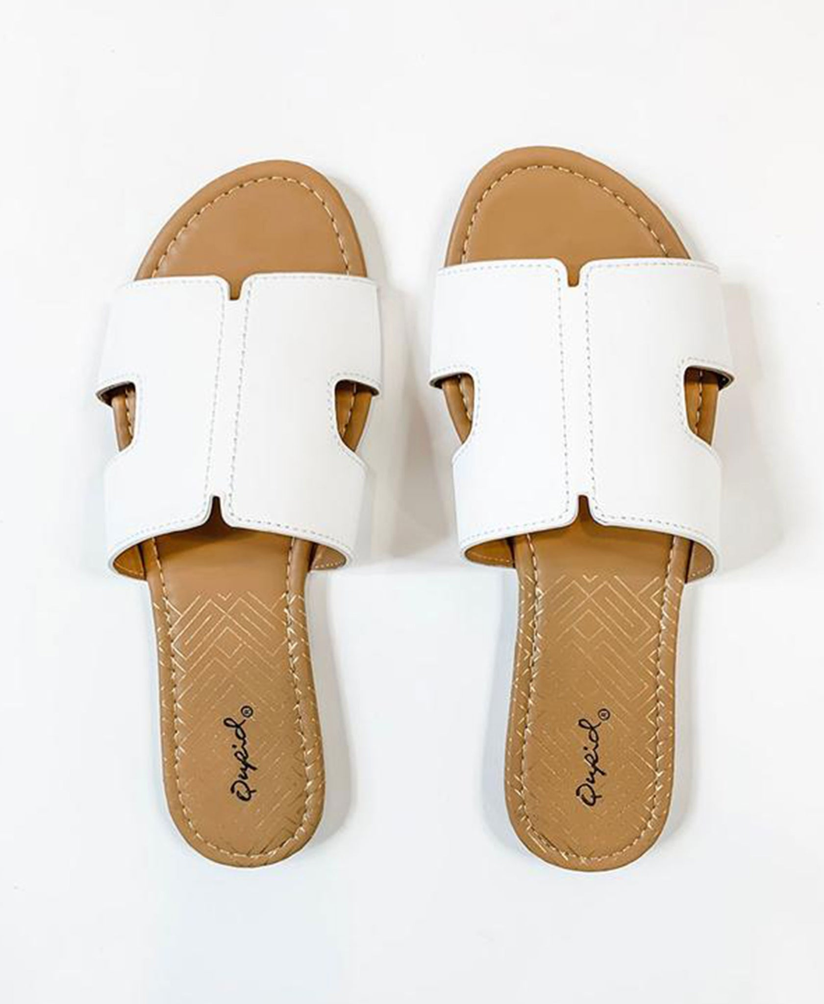 Archer Slide Sandal - White