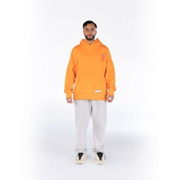 ART NOT FINISHED YET - ORANGE HOODIE
