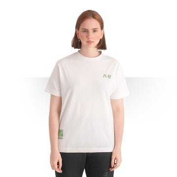 PI 12 OVERSIZE T - SHIRT WHITE WOMEN