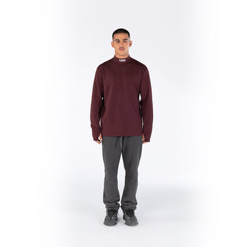 TURTLENECK - MAROON