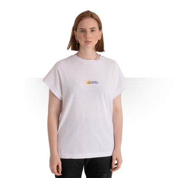 JAMAICAN CUT OVERSIZE T - SHIRT OFF-WHITE WOMEN