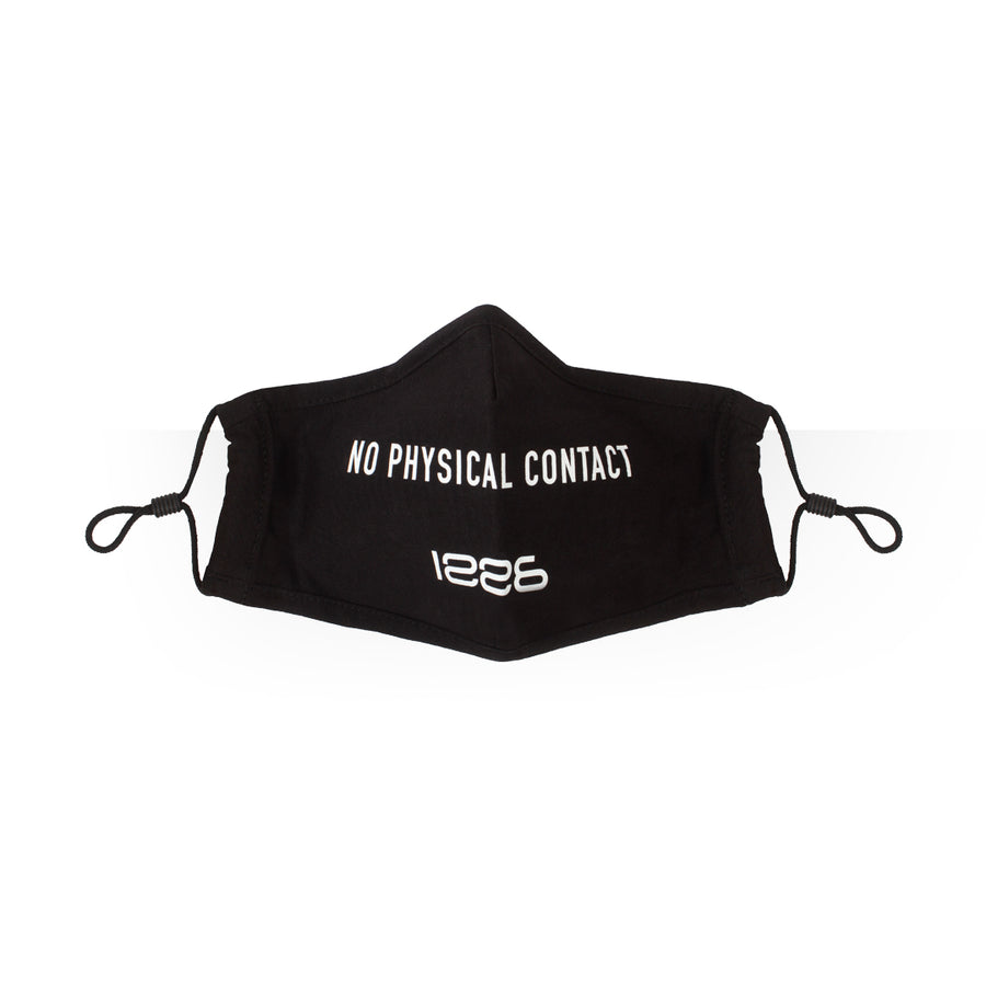 NO PHYSICAL CONTACT MASK BLACK
