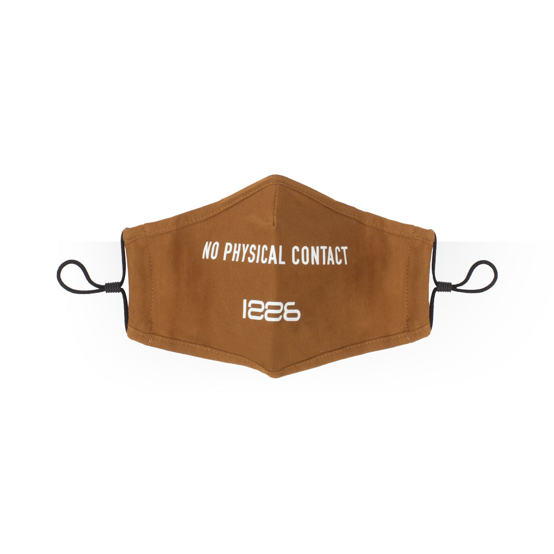 NO PHYSICAL CONTACT MASK BROWN
