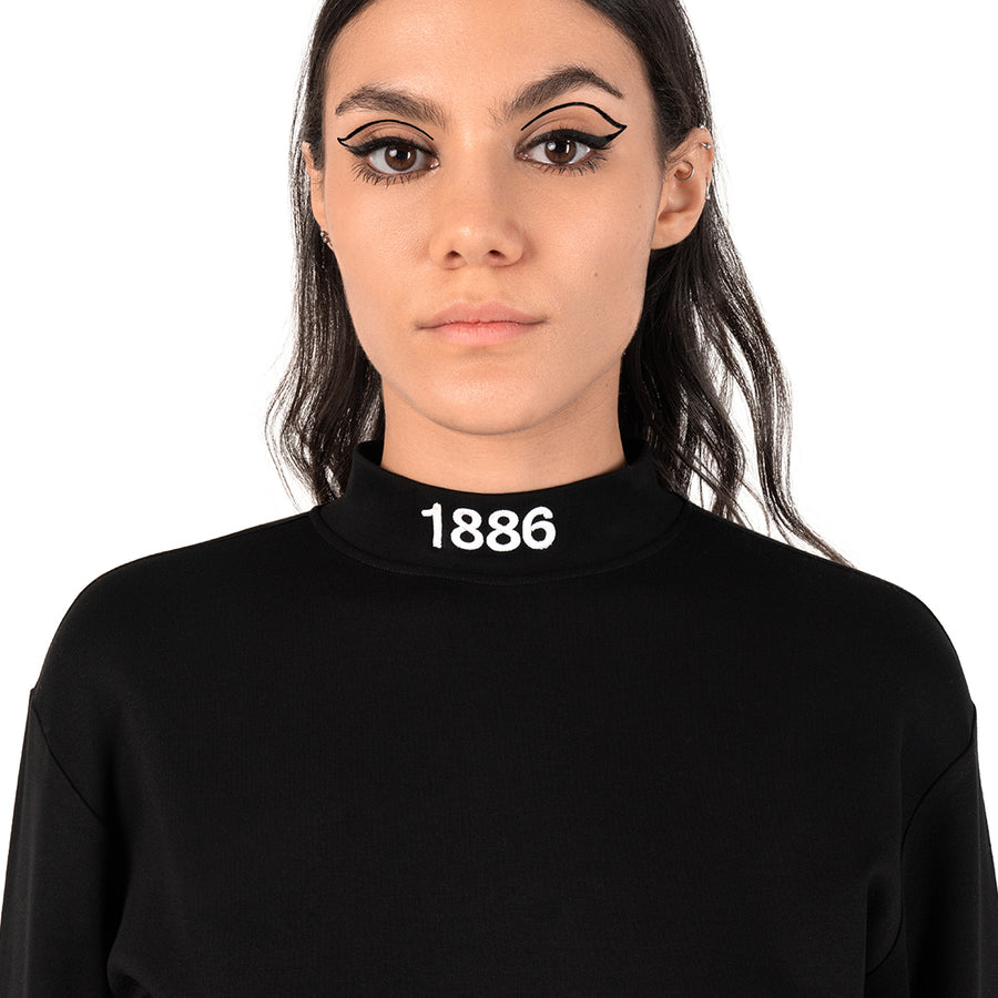 TURTLENECK - BLACK.