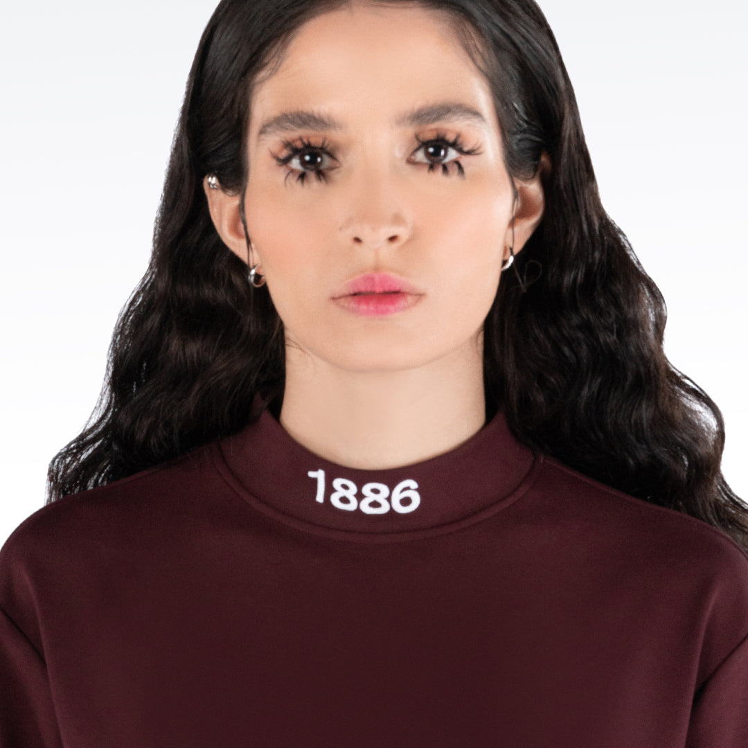 TURTLENECK - MAROON.
