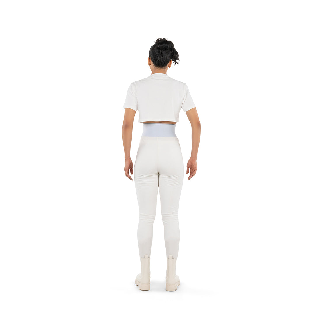 LEGGINGS - OFF WHITE
