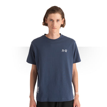 PI 12 T - SHIRT BLUE