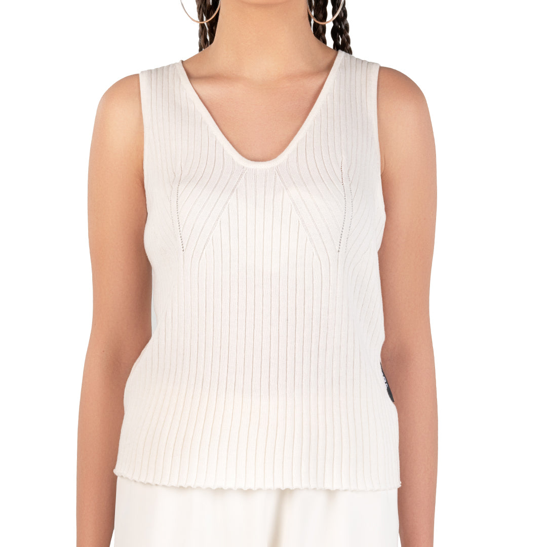 TANK TOP - OFF WHITE