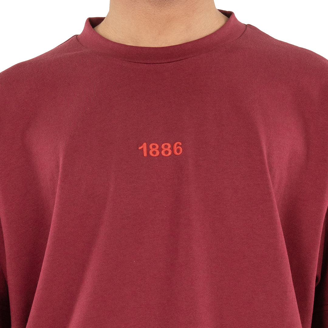 1886 CLASSIC T - SHIRT RED