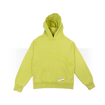 Plain Mustard Yellow Hoodie Women