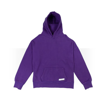 Plain Purple Hoodie Women