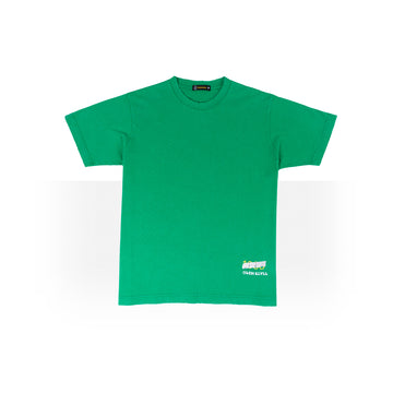 PLAIN OVER SIZED T-SHIRTS GREEN