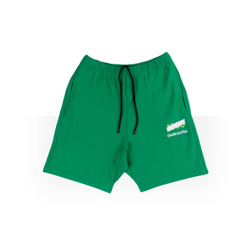 MEN  GREEN SHORTS