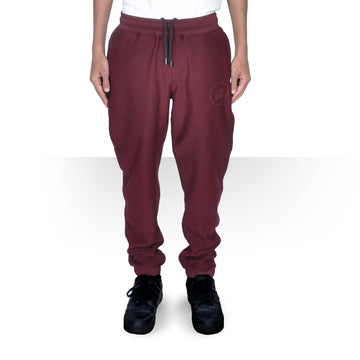 MAROON OVERSIZED PANTS