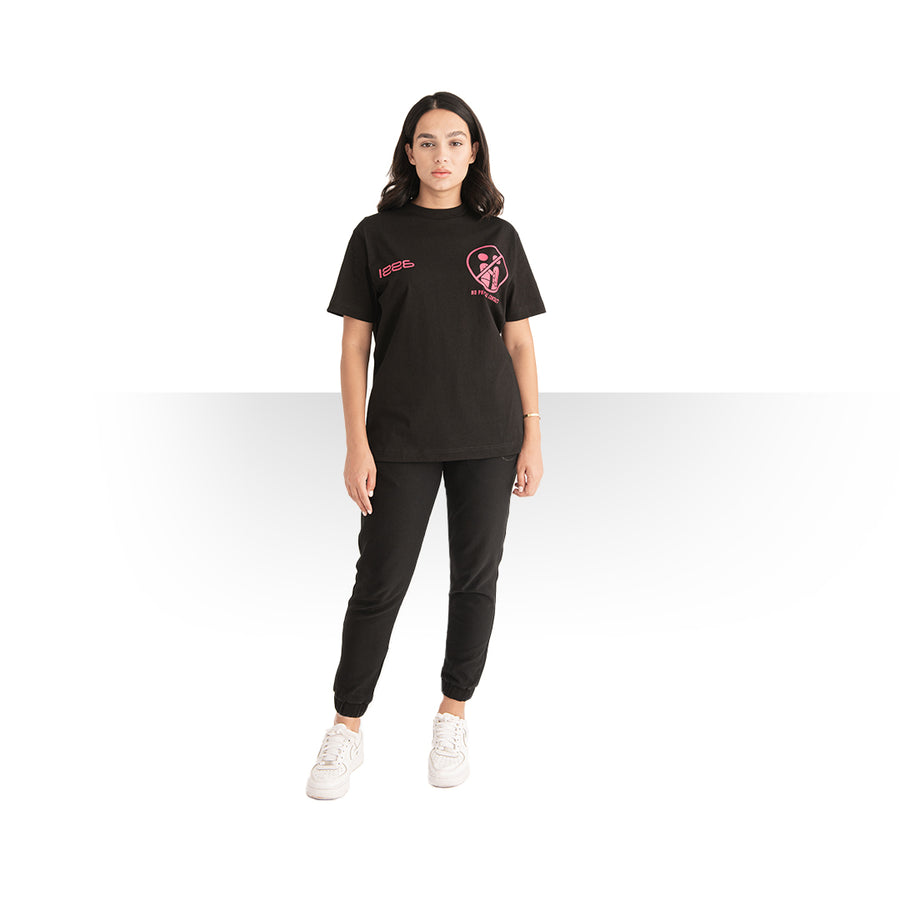 Pandemic OVERSIZE T - SHIRT BLACK WOMEN