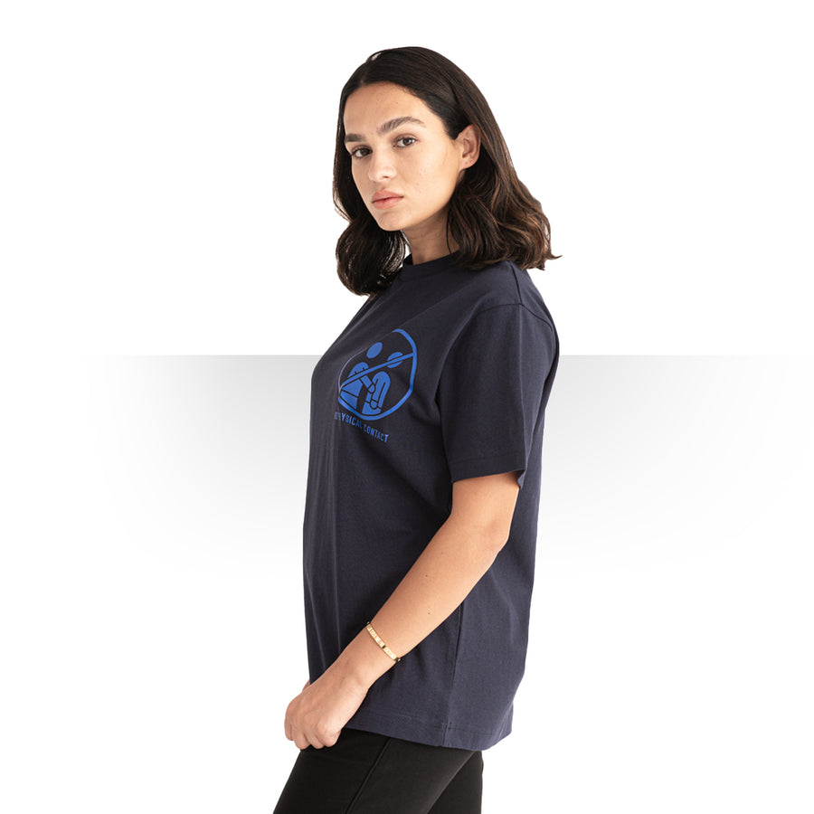 Pandemic OVERSIZE T - SHIRT BLUE WOMEN