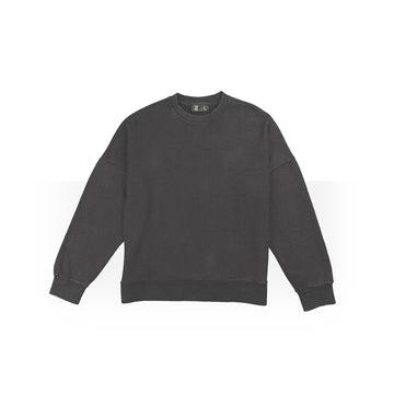 Plain Dark Grey Jumpers Women