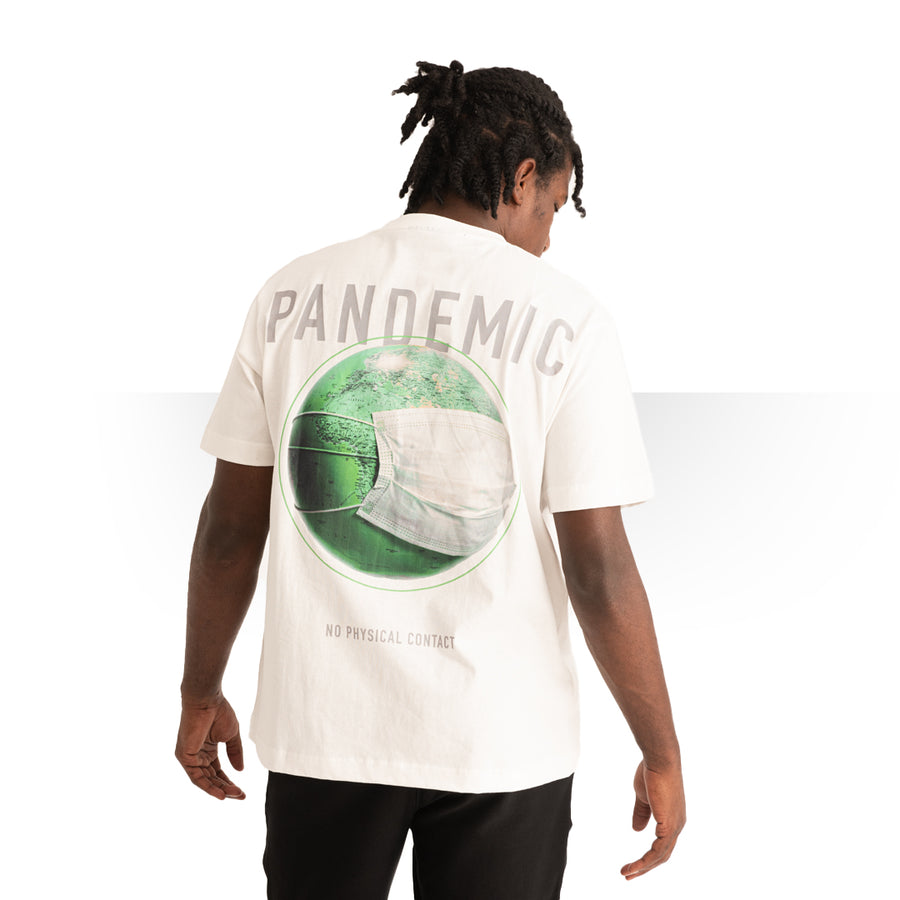 Pandemic OVERSIZE T - SHIRT WHITE