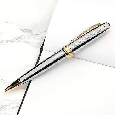 Entrepreneur's Club - Personalized Silver Pen - My Fifth Avenue