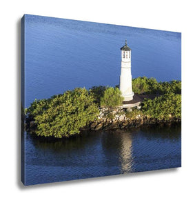 Gallery Wrapped Canvas, Tampa Lighthouse - My Fifth Avenue