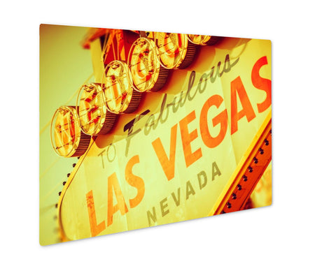 Metal Panel Print, Fabulous Las Vegas Strip - My Fifth Avenue
