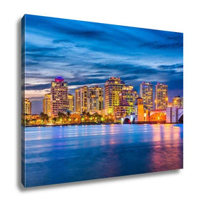 Gallery Wrapped Canvas, West Palm Beach Florida - My Fifth Avenue