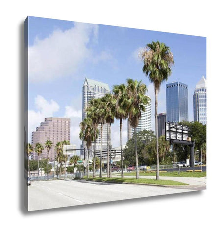 Gallery Wrapped Canvas, Tampas Channelside Drive - My Fifth Avenue