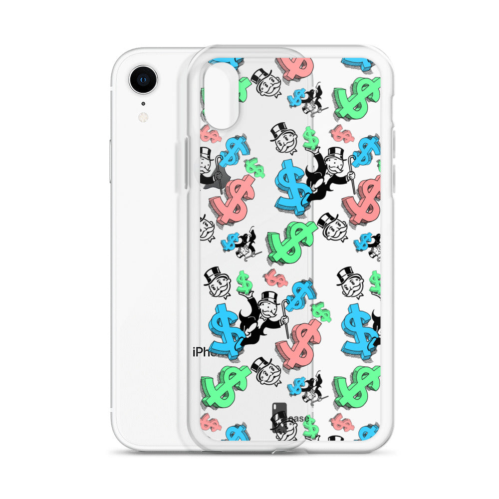 online store e2f72 d04e8 Monopoly Paper Chase iPhone Case