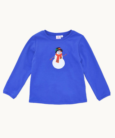 Snowman Cotton Pyjama Set