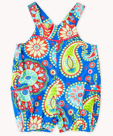 Blue Carnival Summer Playsuit