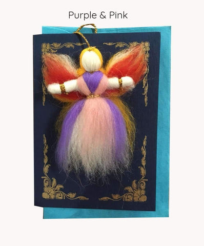 Blue Himalayan Angel Card - Dolls4Tibet