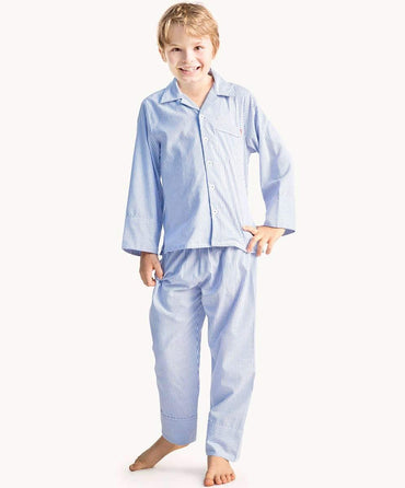 Blue Louis Cotton Pyjamas