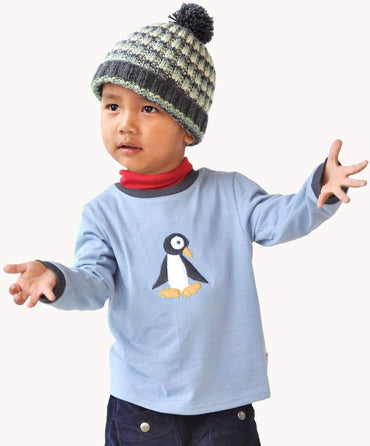Blue Penguin Long Sleeve Tee