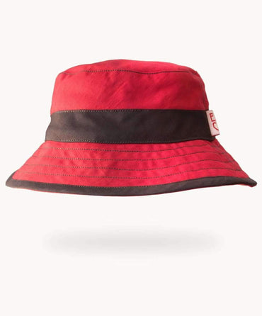 Bold Red Fisherman's Hat