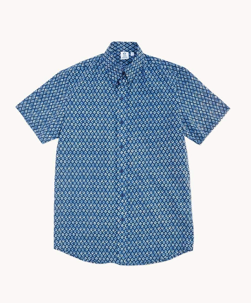 Byron Blues Men's Half Sleeve Shirt