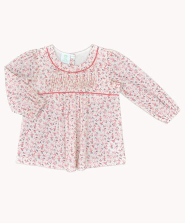 Camille Pin Tuck Top