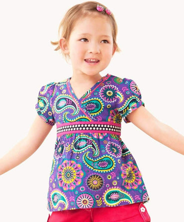 Colorful Ashara Summer Top