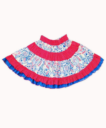 Colorful Indian Summer Party Skirt