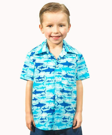 Cool Sharks Cotton Shirt