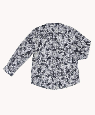 Cora Boys Collarless Shirt
