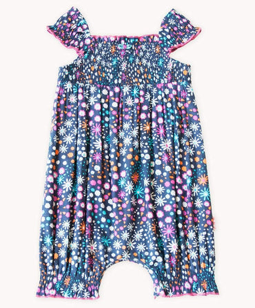 Cute Star Bright Cotton Playsuit