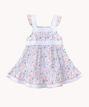 Ditsy Daze Cotton Dress Set