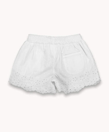 Embroidered Shorts