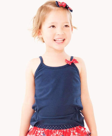 Essential Navy Blue Toddler Singlet