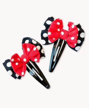 Fabulous Flamenco Bow Hair Clips