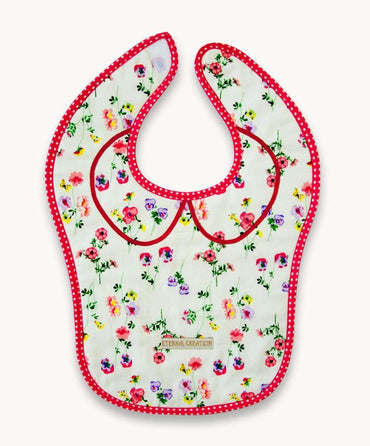 Floraly Coraly Bib