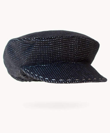 Formal Charcoal Wool Hat