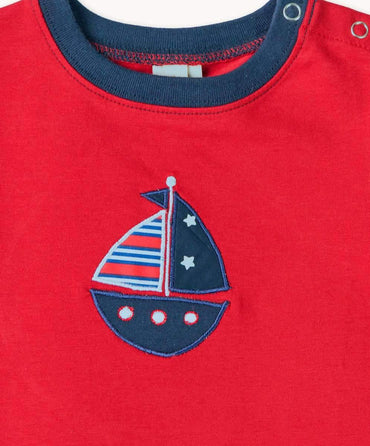 Fun Red Boat T-Shirt