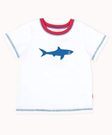 Fun Shark Cotton T-Shirt